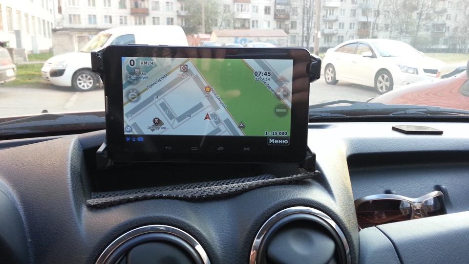 навигация для планшета - фото 6