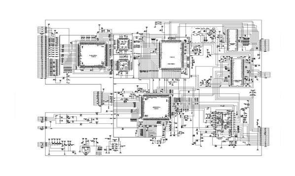 Схема GPS навигатора